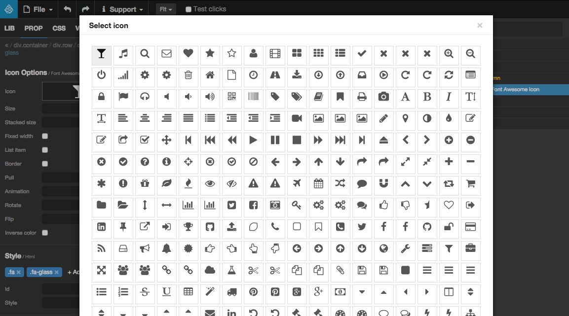 how to add font icon in html