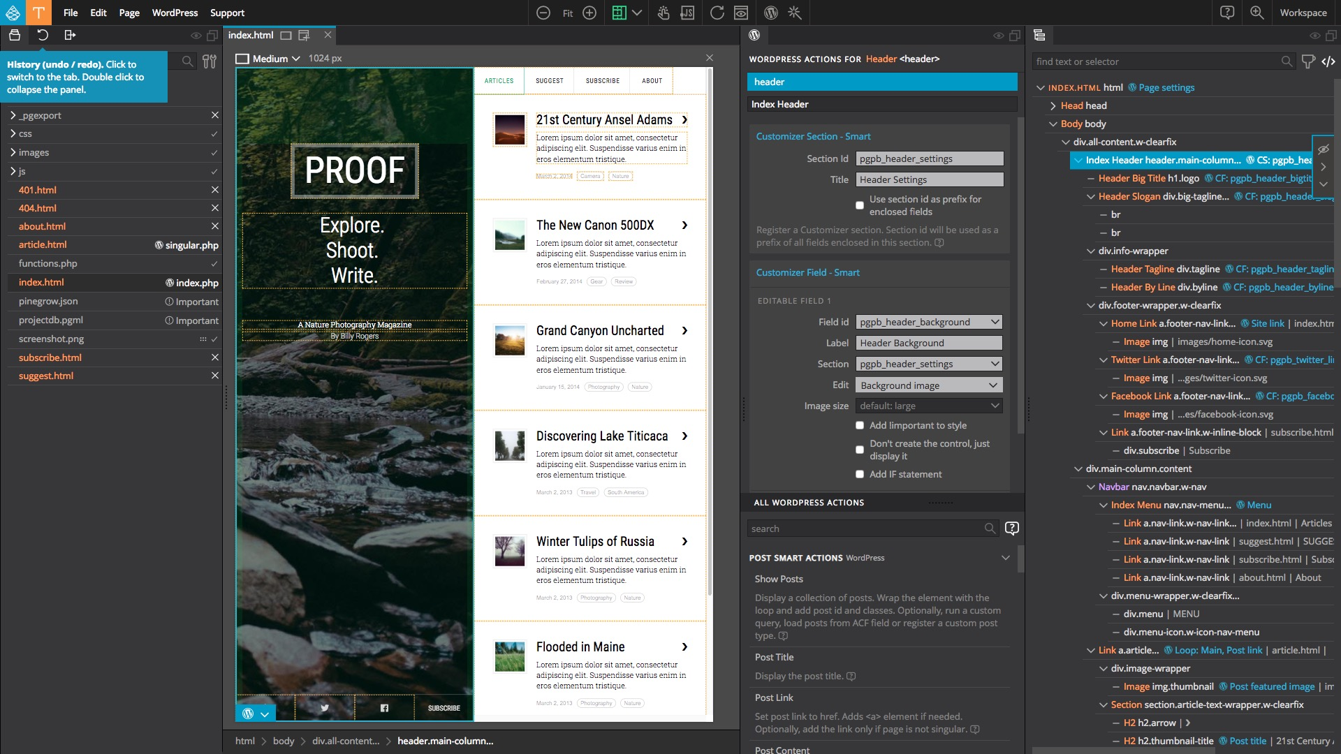 How to convert Webflow project into a WordPress theme