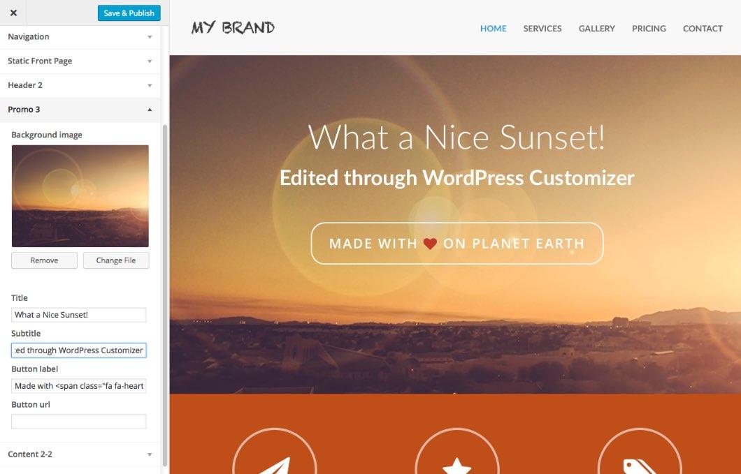 Bootstrap Blocks for WordPress | Pinegrow Web Editor